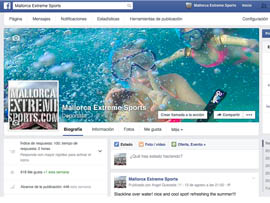 Mallorcaextremesports.com facebook page